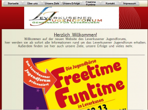 Screenshot jugendforum-lev.org